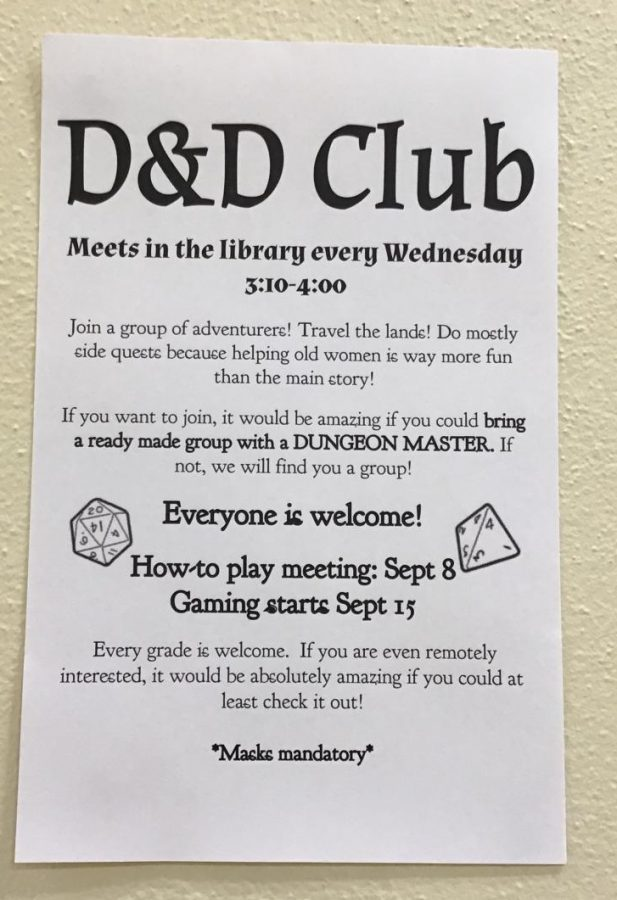 Dungeon & Dragons Club